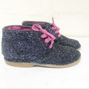 NWOT Cole Haan City Chukka Girls Sparkly Boots